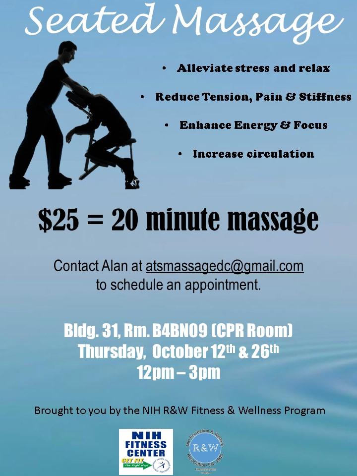 Seated Massage Oct