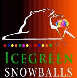 Ice Green Snowballs