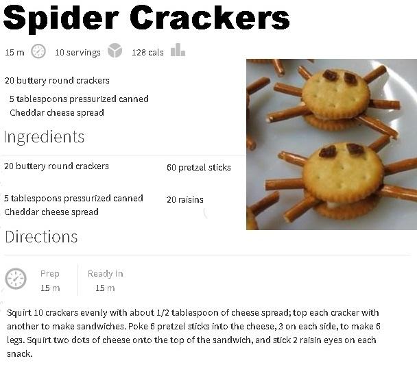 Spider Crackers