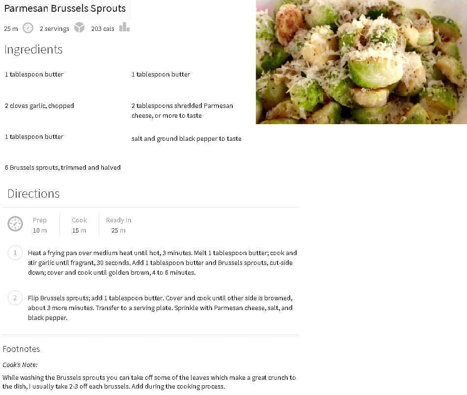 Parm Brussels Sprouts