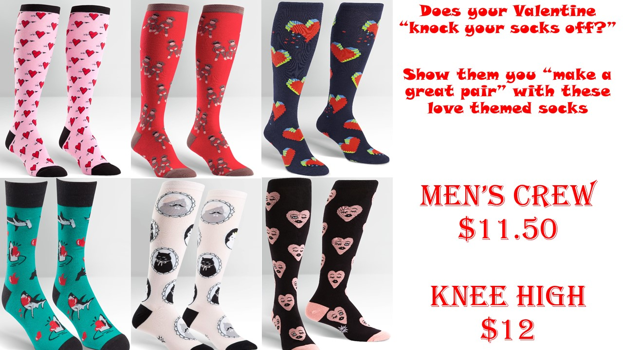 Socks - Valentine's