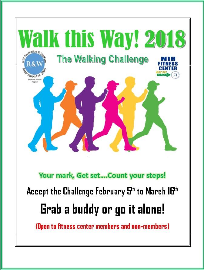 Walk This Way Challenge 2018