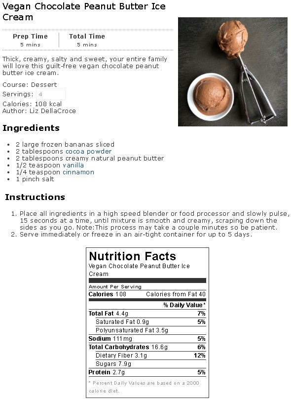 Vegan Choc PB Ice Cream