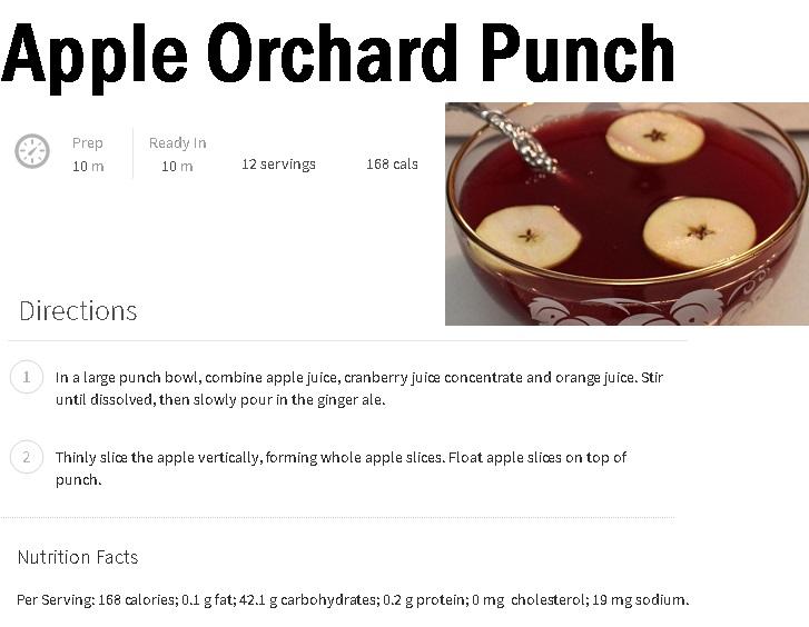 Apple Punch