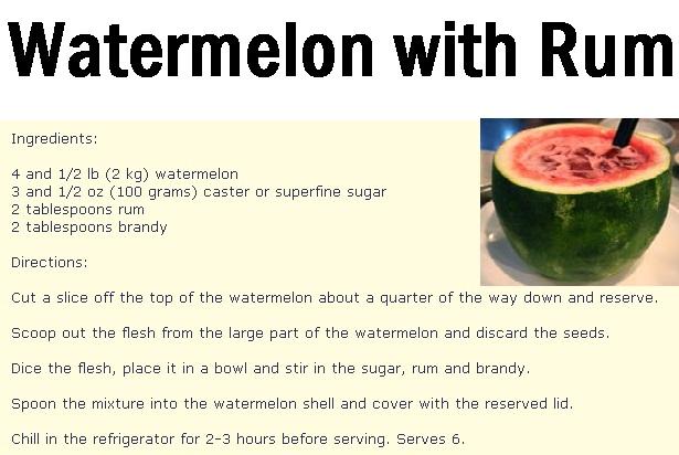 Watermelon Rum