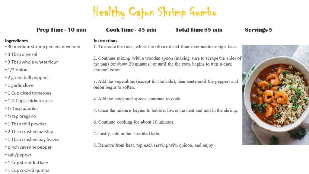 Cajun Shrimp Gumbo