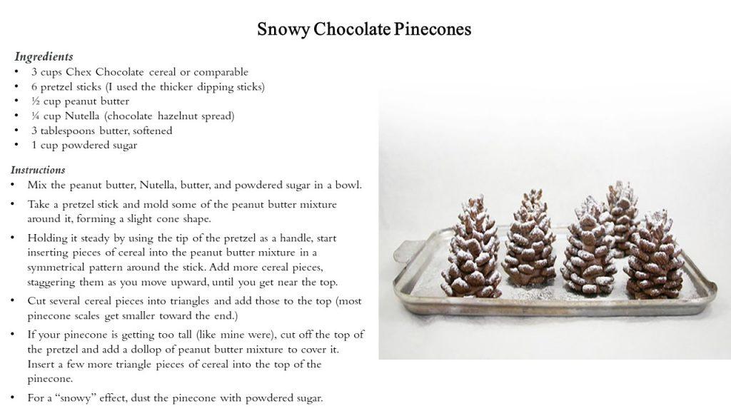 Chocolate Pinecones