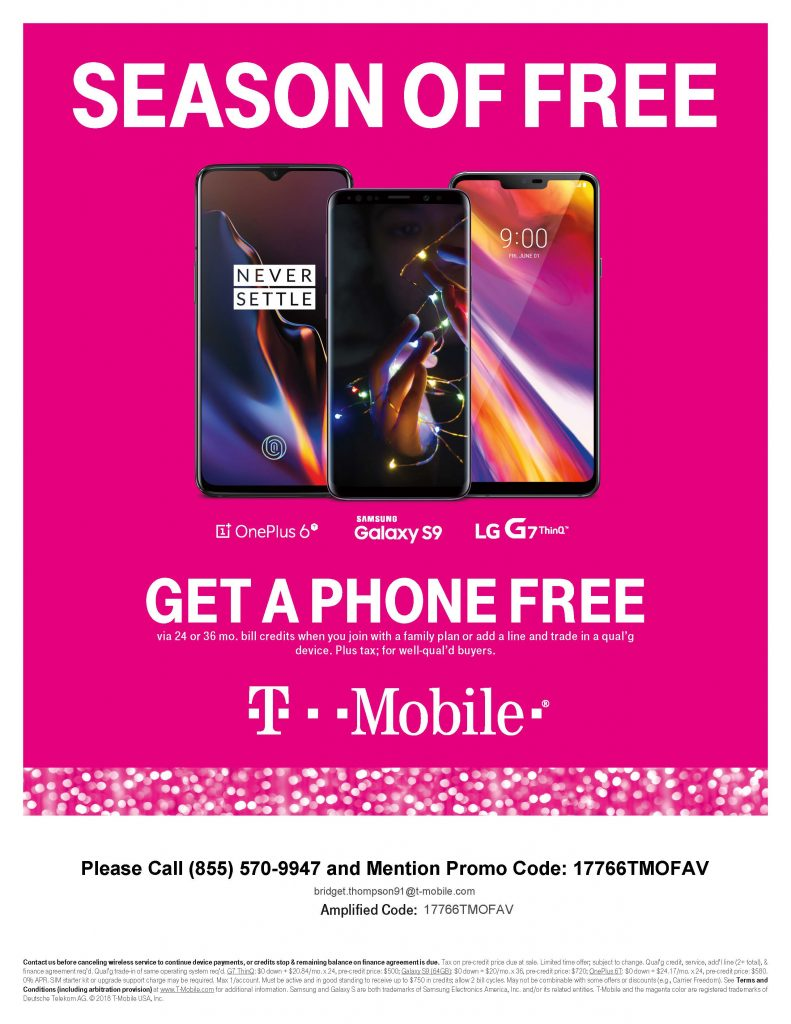 T-Mobile Season of Free