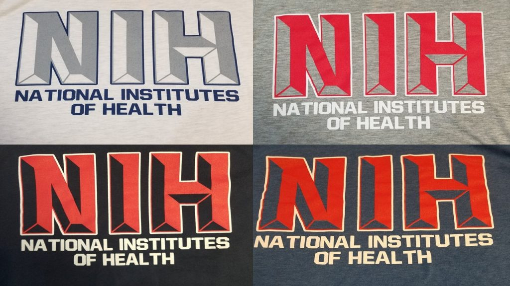 New NIH Shirts
