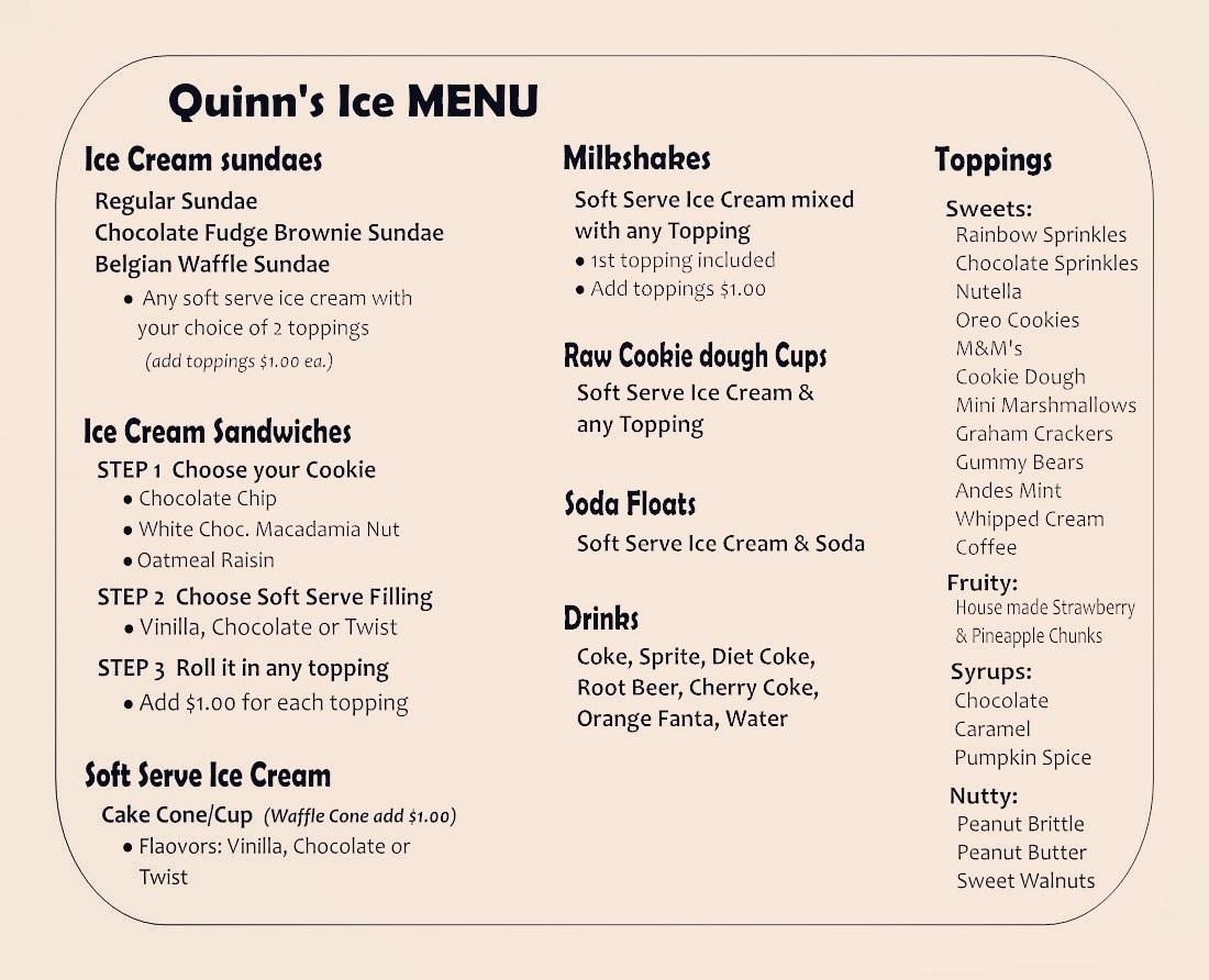 Quinn's Ice
