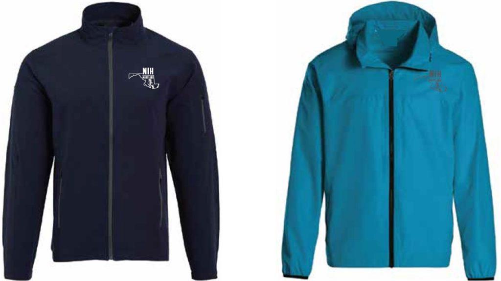 NIH Zip Rain Coat