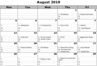 August 2019