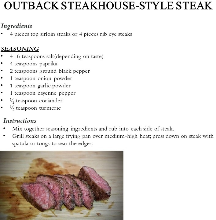 Steakhouse Steak