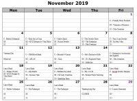 November 2019