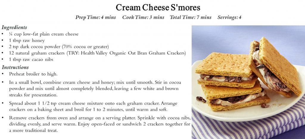 S'Mores Cream Cheese