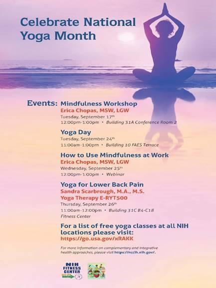 NIH Yoga Month