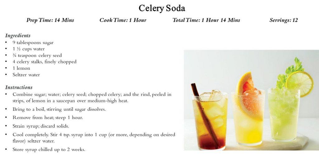 Drink: Celery Soda