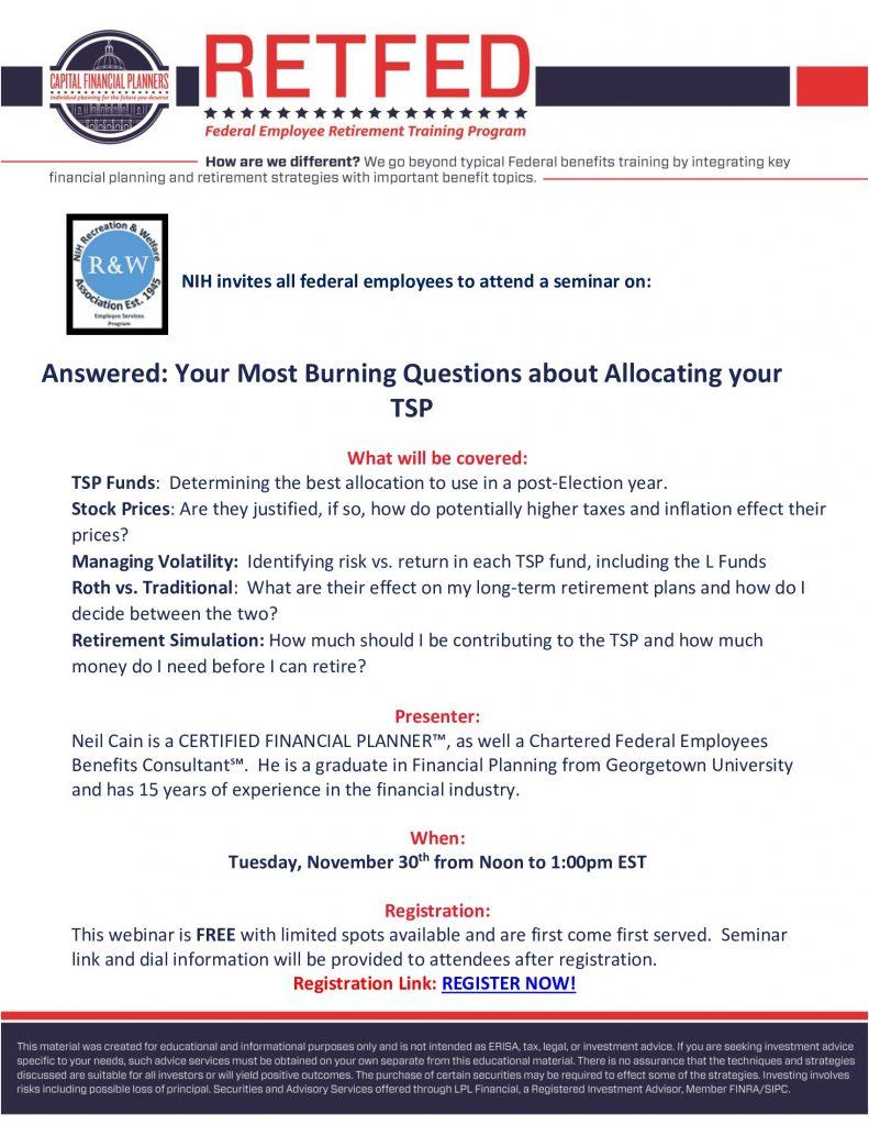 RetFed TSP Webinar