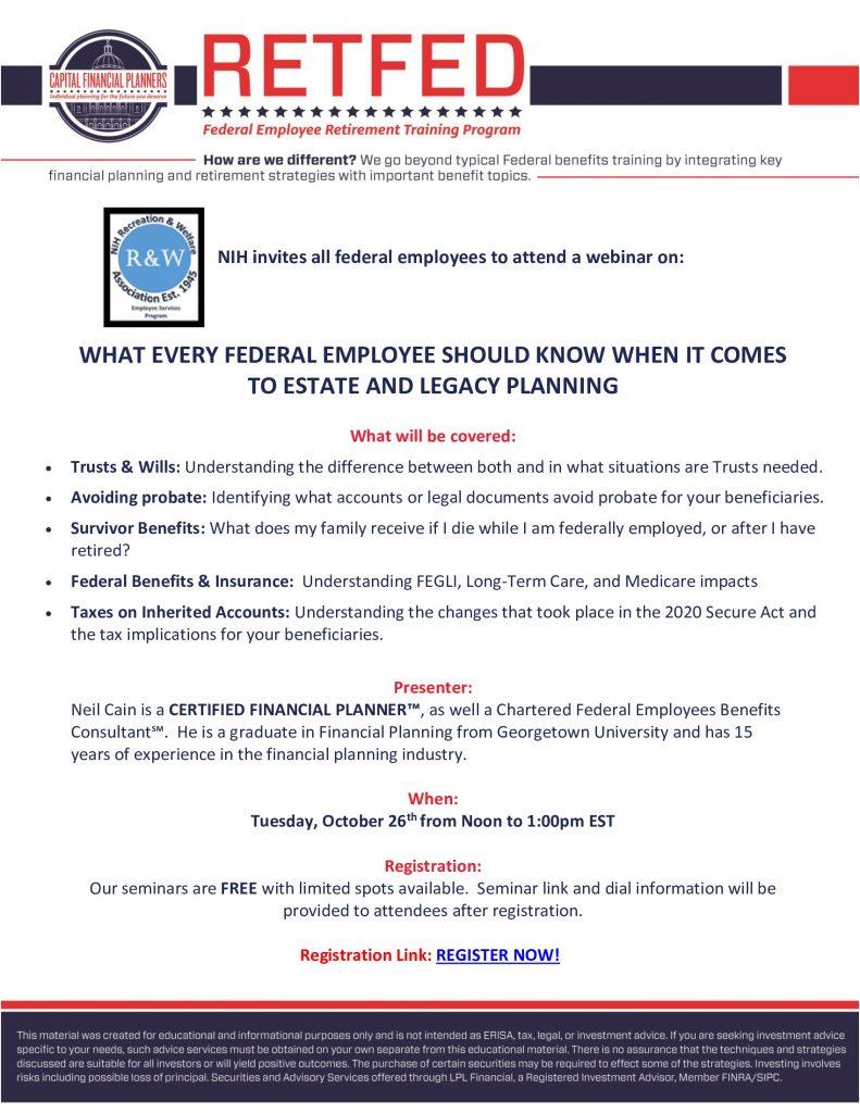 RetFed Estate Planning
