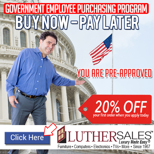 Buy now, pay later—20% off. Luther Sales