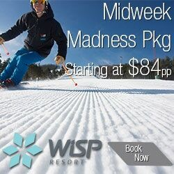 Ski Wisp—Midwest Madness Package starting at $84